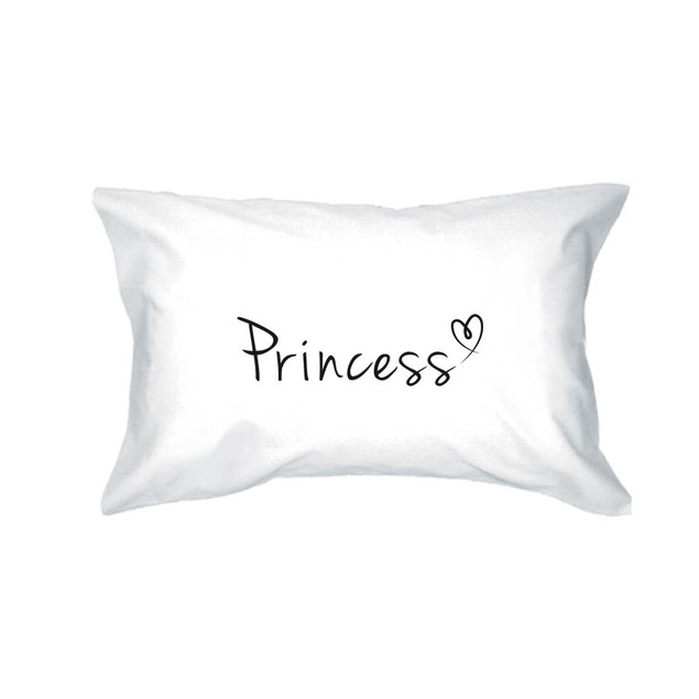 Couple Matching Prince and Princess Pillowcases