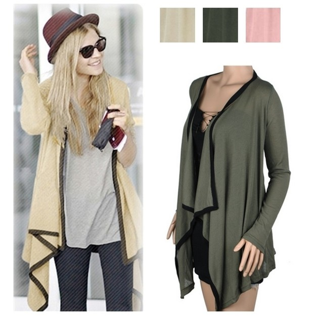 Draped Cardigan in 3 Colors