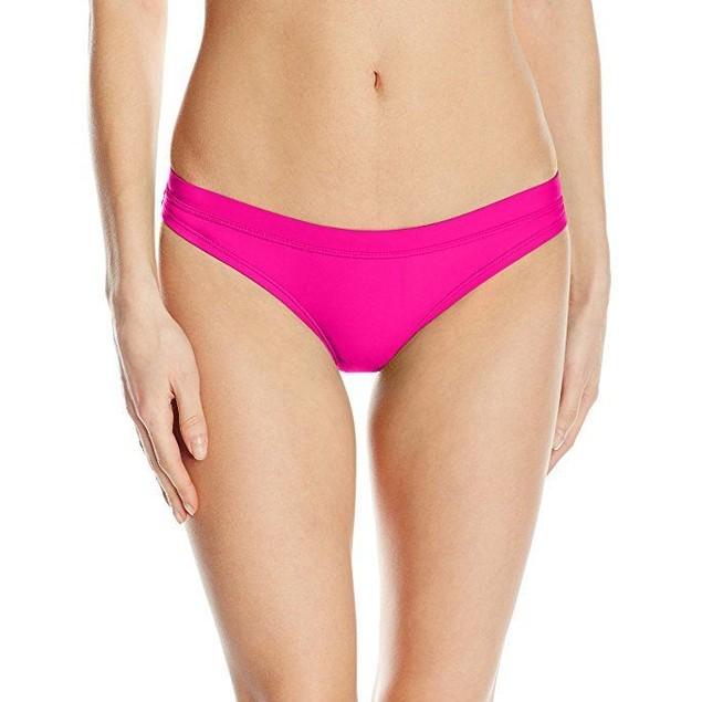 Speedo Women's Powerflex Eco Solid Swimsuit Bottom SZ: L