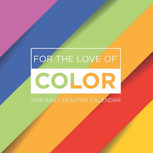 For The Love of Color Desk Calendar, Architecture | Design by Calendars