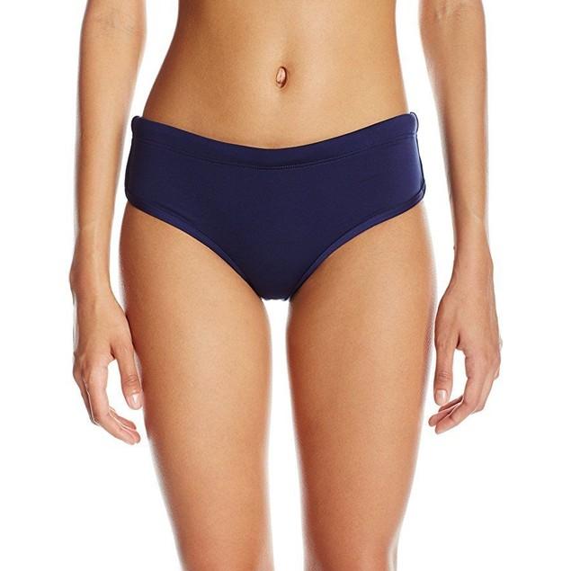 TYR Womens Solid Zola hipkini, Navy, X-Large