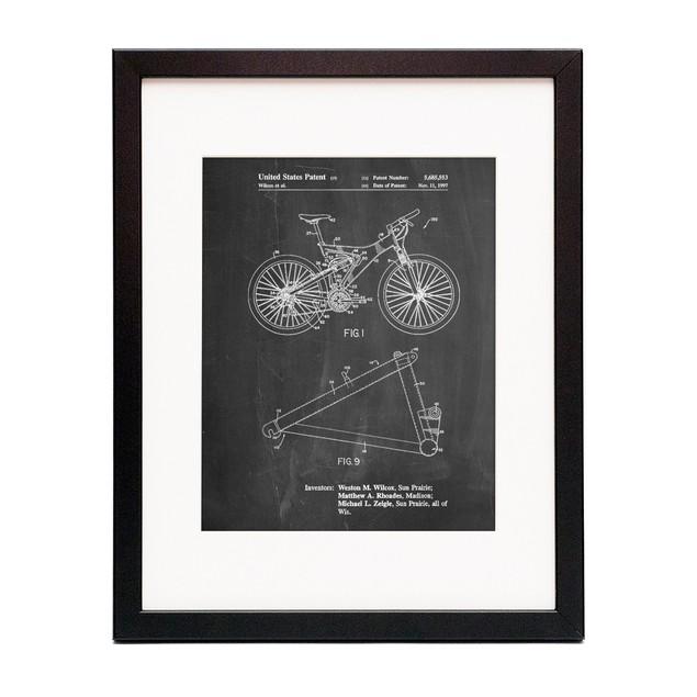 Mountain Bike Patent Art