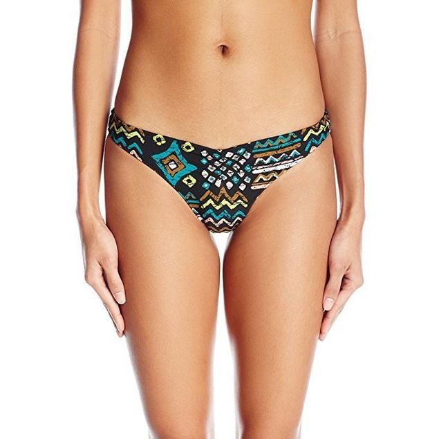 Volcom Women's Tribal Instinct Reversible V Fit Bikini Top SZ XL