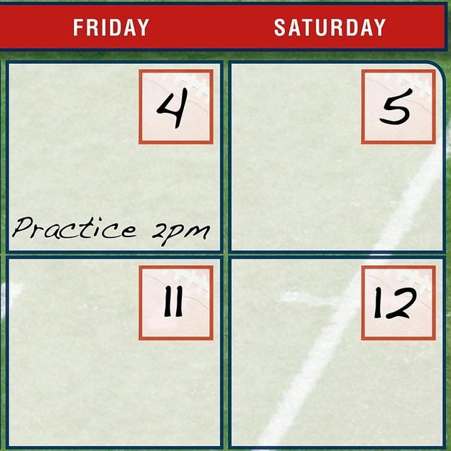 Turner Perfect Timing New England Patriots Jumbo Dry Erase Sports Calendar