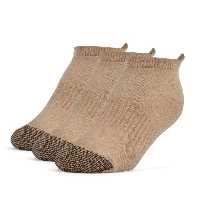 Galiva Boys' Cotton Extra Soft No Show Cushion Socks - 3 Pairs