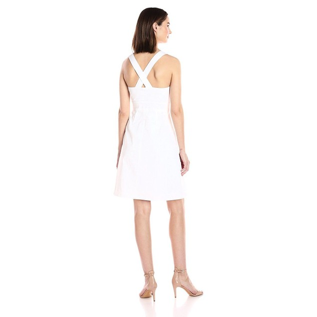 Adrianna Papell Women's Stretch Cotton Fit and Flare SIZE 2