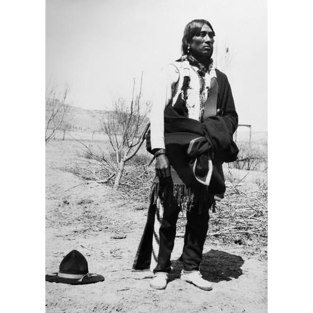 Tewa Man, C1910. /Nflorentin Martinez, A Tewa Native American Man At San Il