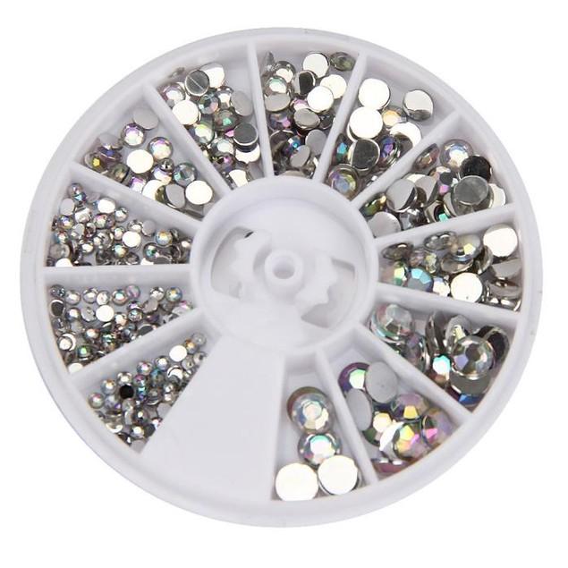 3D Acrylic Nail Art Gems Crystal Rhinestones DIY Decoration