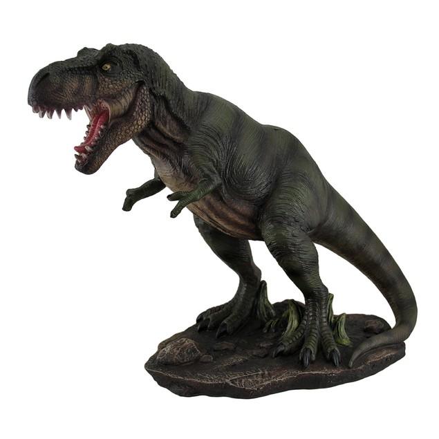 Tyrannosaurus Terror T-Rex On The Hunt Decorative Statues