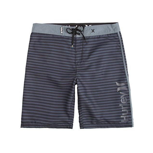 Hurley Men's Waldorf Boardshorts Black Swimsuit Bottoms SZ: 38