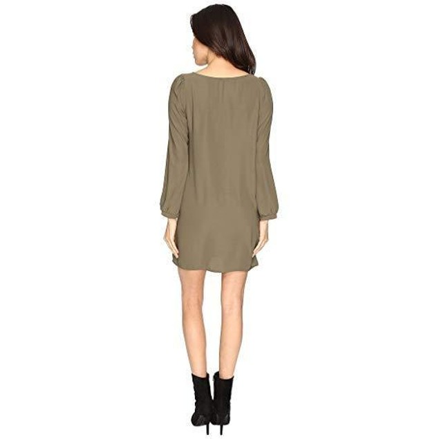 Brigitte Bailey Women's Skyler Shift Dress New Olive Dress
