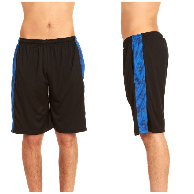 4-Pack Men's Active Athletic Performance Shorts