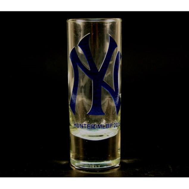 "New York Yankees MLB ""Hype"" Tall Shot Glass"