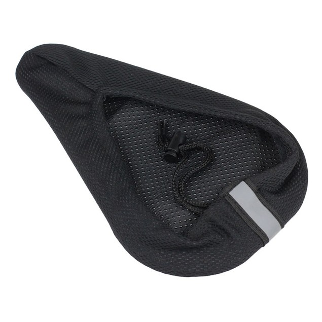 Cycling Bike 3D Silicone Gel Pad Seat Saddle Cover Soft Cushion