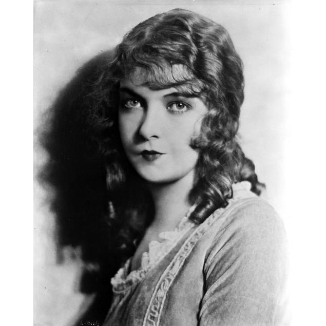 Lillian Gish on a Dress Pouting Lips Portrait Poster