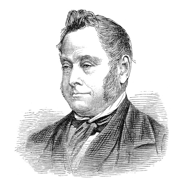 William G. Ward (1812-1882). /Nenglish Theologian. Line Engraving, English,