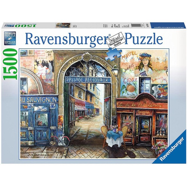 Passage to Paris 1500 Piece Puzzle, 1,500 Piece Puzzles by Ravensburger