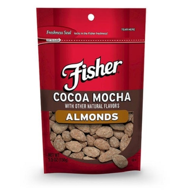 Fisher Cocoa Mocha Almonds