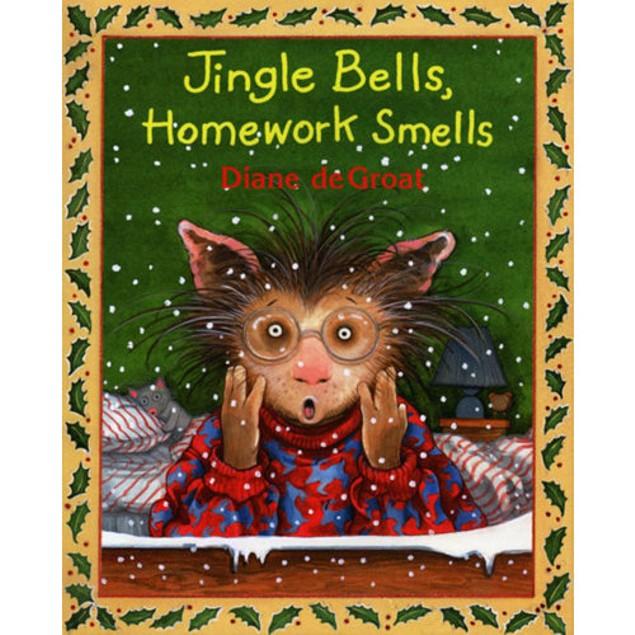 Jingle Bells Homework Smells Book, Christmas Books by HarperTrophy