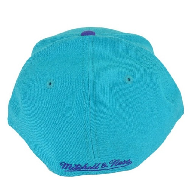 Charlotte Hornets NBA Mitchell & Ness Hardwood Classics Fitted Hat