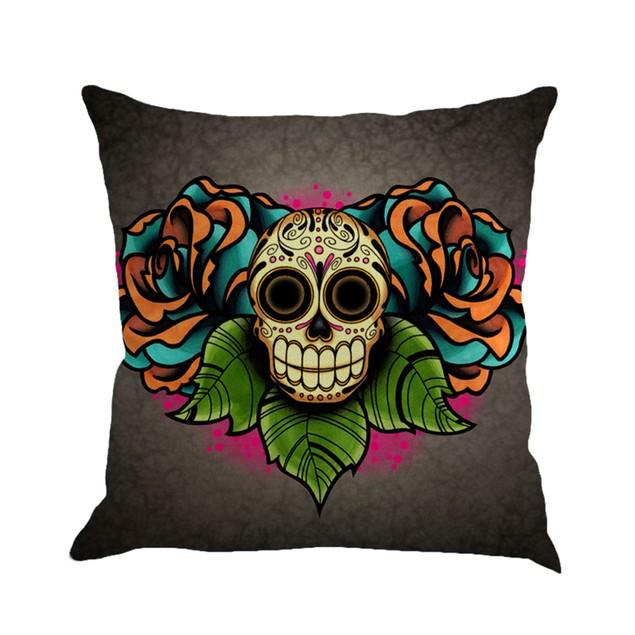 Greyhound Painting Linen Cushion Cover Throw Pillow Case Sofa Home Decor
