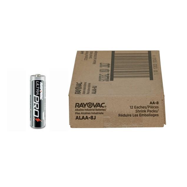 Rayovac Ultra Pro Alkaline AA Batteries (1 Box - 96 Batteries)
