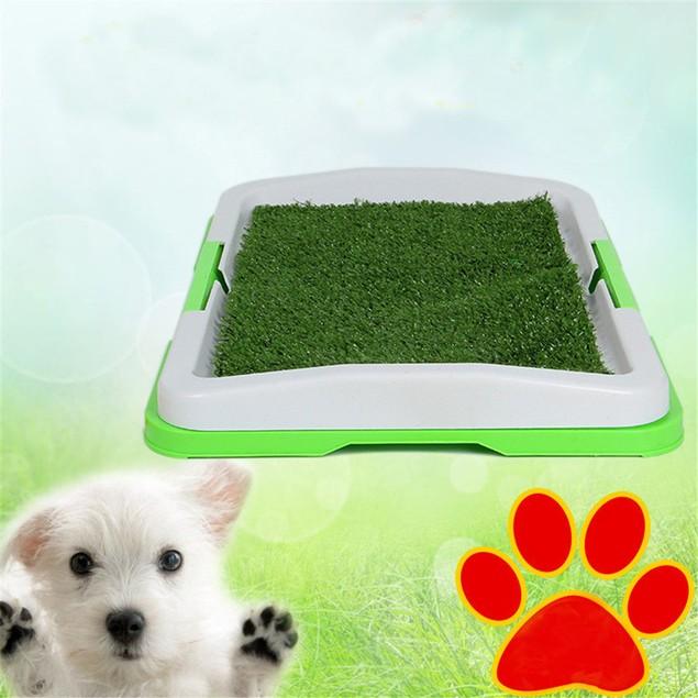 Dog Corner Toilet Litter Pee Tray For Animal Cat Kitten Rabbit