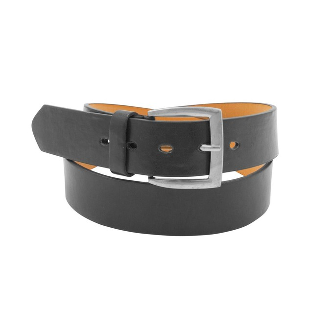 2 Pack: Men's Black & Brown Solid Belts
