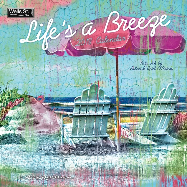 Lifes a Breeze Wall Calendar, Travel Posters by Lang Companies