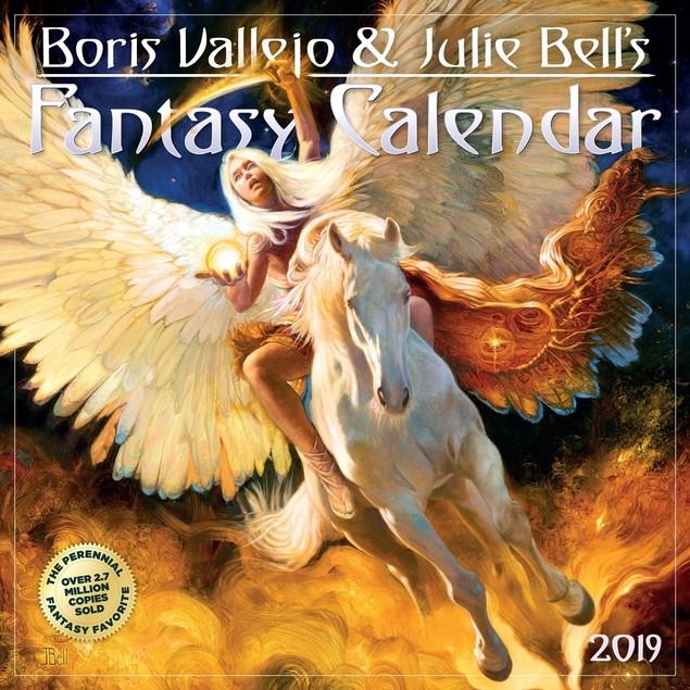 Vallejo & Bell Wall Calendar, Fantasy Art by Calendars