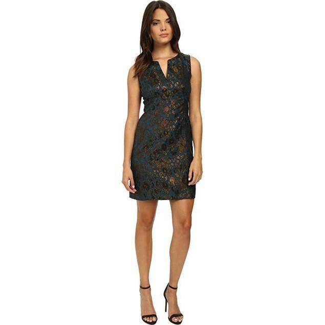 Nanette Nanette Lepore Women's It Girl Shift Dark Teal Dress 14