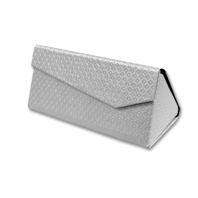 Folding Triangle Magnetic Hard Case Box for Glasses
