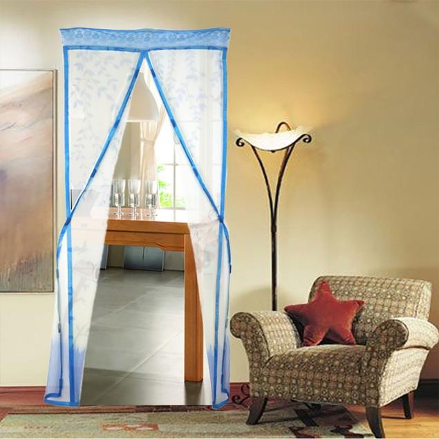 Magnetic Mesh Insect Screen Door