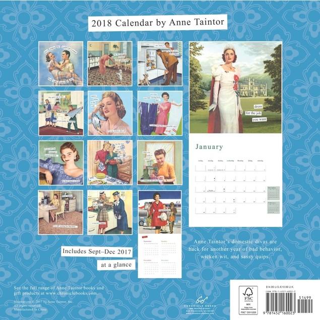 Anne Taintor Wall Calendar, More Humor by Calendars