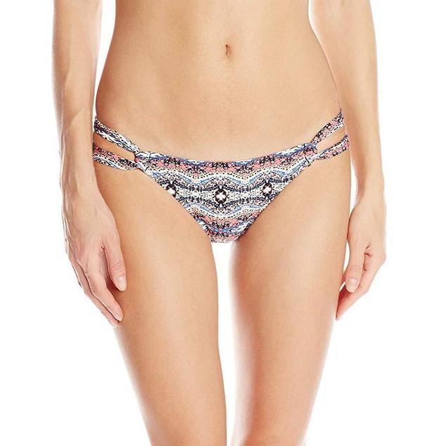 Volcom Women's Wild Yonder Modest Bikini Bottom, Mauve, X-Small
