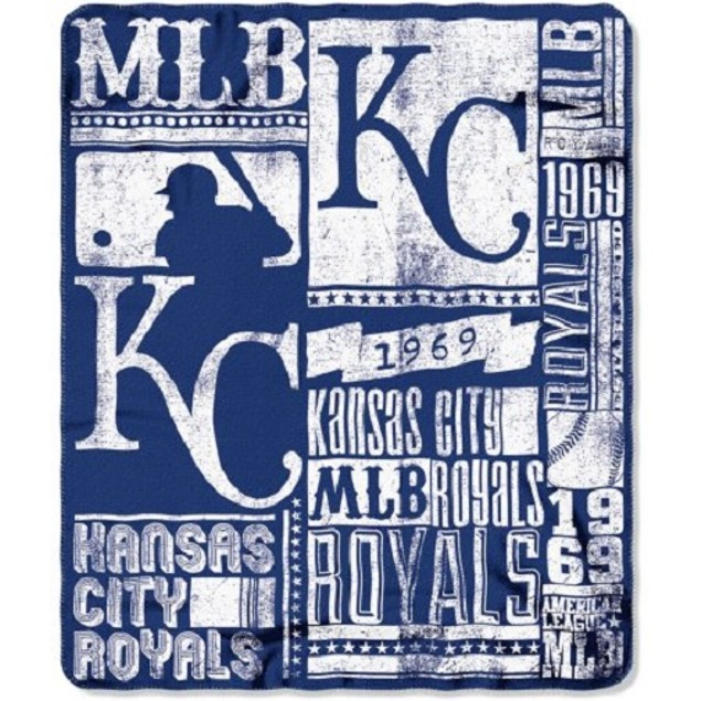 Kansas City Royals MLB Northwest Fleece Throw