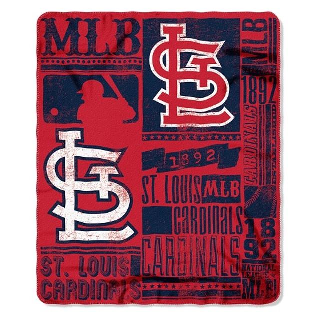 St. Louis Cardinals MLB Northwest Fleece Throw