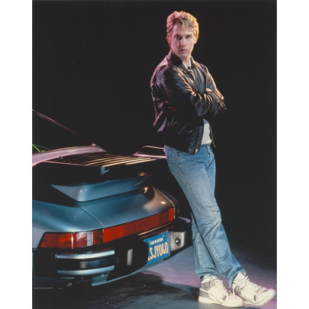 DB Sweeney Leaning in the Car Pose Portrait Poster