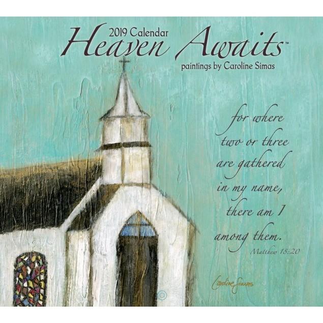Heaven Awaits Wall Calendar, Christian by Calendars