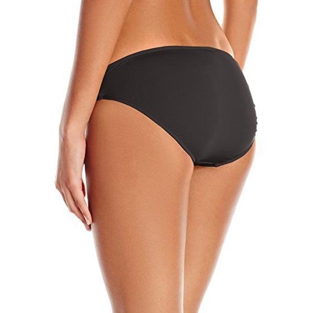 Seafolly Women's Seafolly Twist Band Hipster Bikini Bottom, Steel, SZ: