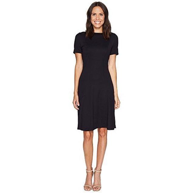 Ellen Tracy Women's Seamed Knit Dress, Night Sky SIZE X-LARGE