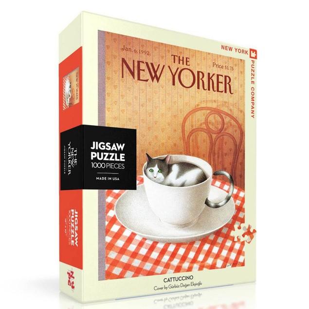 Cattucino New Yorker 1000 Piece Puzzle