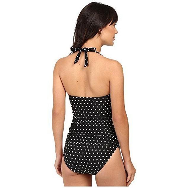 LAUREN Ralph Lauren Women's Dot Retro Swim Dress Cover-Up Sz 4