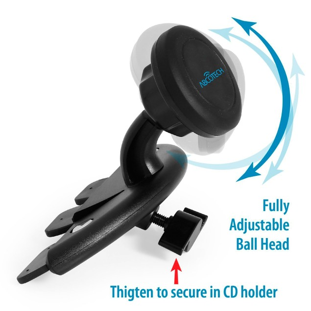 Universal Mobile Phone Car Mount - Cd Slot with Magnetic Technology