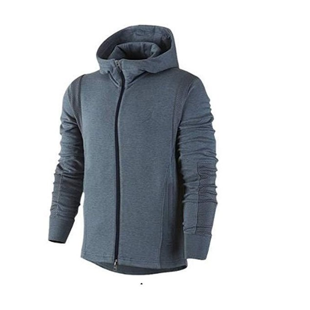 Jordan Modern Fleece Jacket (Small-cobalt steel heather/graphite) SZ: