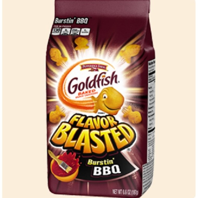 Pepperidge Farm Flavor Blasted Burstin BBQ Goldfish Baked Snack Crackers