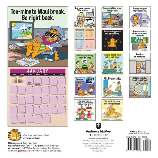Garfield Wall Calendar, Cartoons | Comics by Calendars