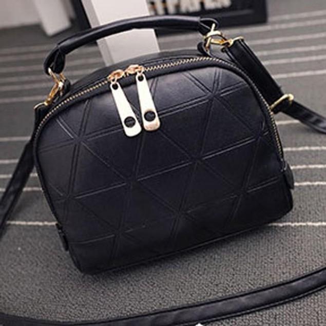 Handbag Shoulder Bag Lady Tote Purse PU Leather Women Messenger