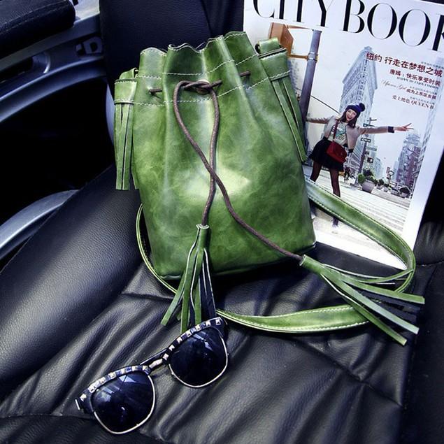 Women Handbag Shoulder Bag Tassel Messenger Hobo Bag