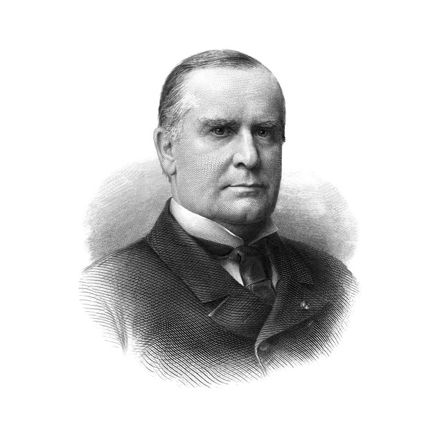 William Mckinley (1843-1901). /N25Th President Of The United States. Steel